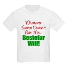 Santa Doesn't Bestefar Will T-Shirt