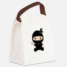 Cute Ninja Canvas Lunch Bag