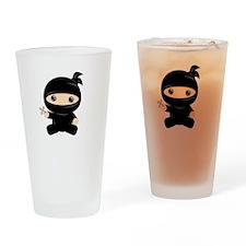 Lil Ninja Drinking Glass