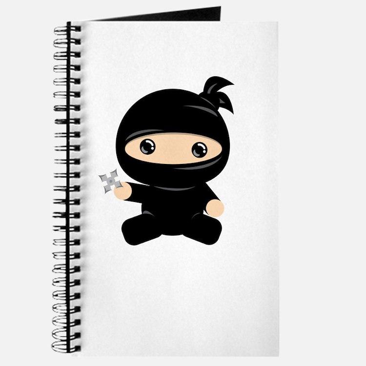 Cute Ninja baby Journal