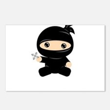 Cute Ninja Postcards (Package of 8)