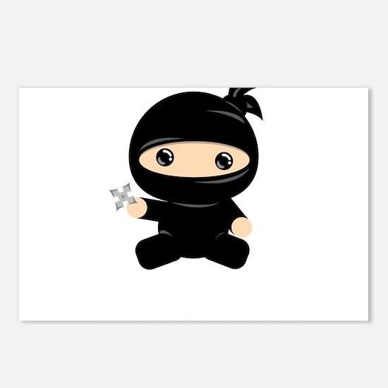 Cute Ninja Postcards (Package of 8)
