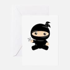 Lil Ninja Greeting Cards