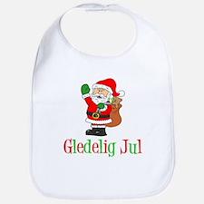 Gledelig Jul Santa Bib