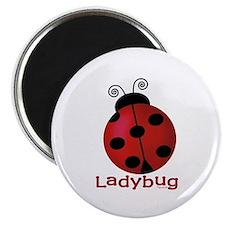 "Cute Ladybug 2.25"" Magnet (10 pack)"