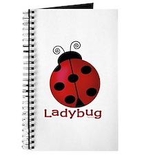 Cute Ladybug Journal