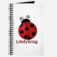 Cute Ladybug Journal