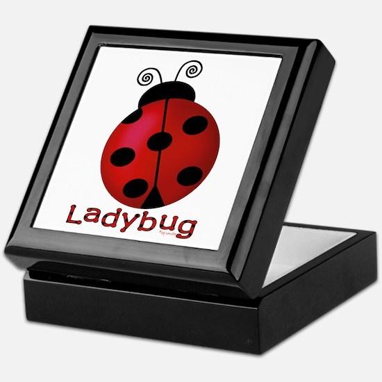 Cute Ladybug Keepsake Box