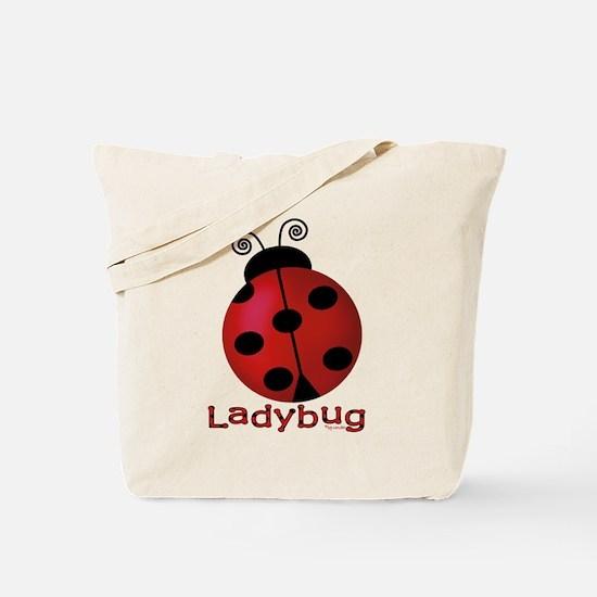 Cute Ladybug Tote Bag