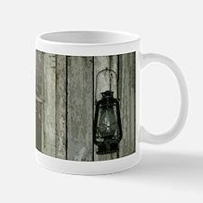 Old wood cabin Mugs