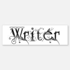 Writer Bumper Car Car Sticker