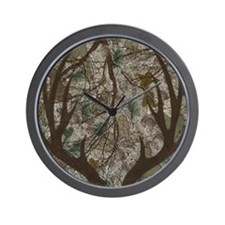 Cute Lady hunters Wall Clock