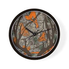 Unique Lady hunters Wall Clock
