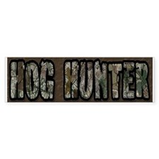 Team Rut Hog Hunter Bumper Bumper Sticker