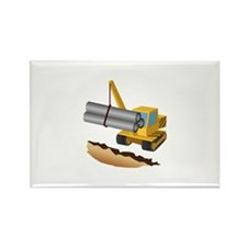 Construction Equipment Lifting Pipes Magnets