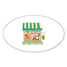 Vegetable Fruits Store Grocery Decal