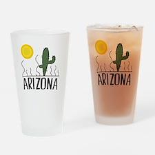 Arizona Cactus Drinking Glass