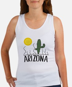 Arizona Cactus Tank Top