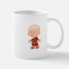 Tibetan Monk Boy Mugs