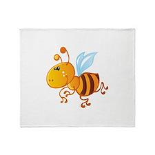 Bumblebee Bee Insect Throw Blanket