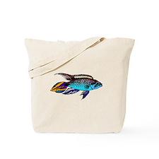 Dwarf Cichlid Tote Bag