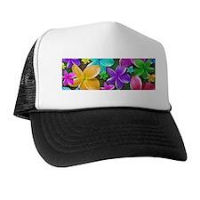 Plumerias Flowers Dream Trucker Hat