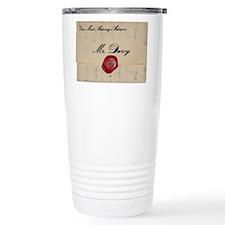 Mr Darcy Love Letter Travel Mug