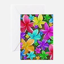 Plumerias Flowers Dream Greeting Cards