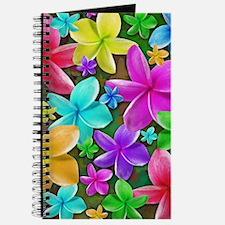Plumerias Flowers Dream Journal