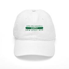 Hugged Whippet Baseball Cap