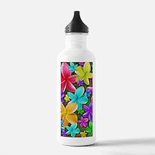 Plumerias Flowers Dream Water Bottle