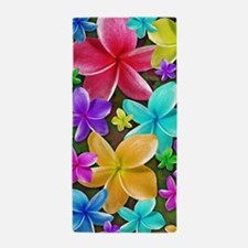 Plumerias Flowers Dream Beach Towel