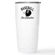 Baseball San Francisco Travel Mug