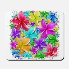Plumerias Flowers Dream Mousepad