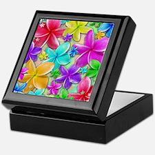 Plumerias Flowers Dream Keepsake Box