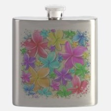 Plumerias Flowers Dream Flask