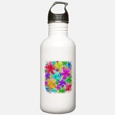 Plumerias Flowers Dream Water Bottle