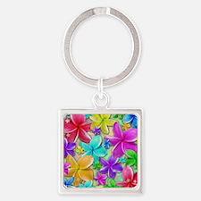Plumerias Flowers Dream Keychains