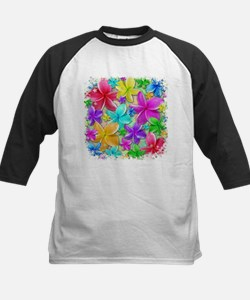 Plumerias Flowers Dream Baseball Jersey