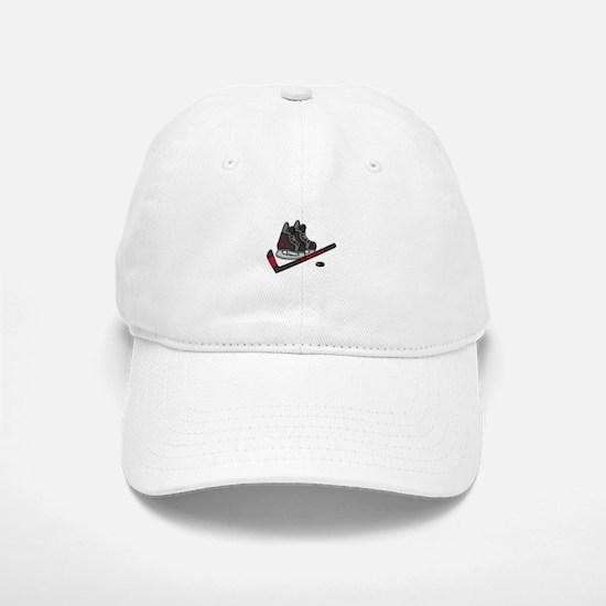 Hockey Skates Baseball Baseball Baseball Cap