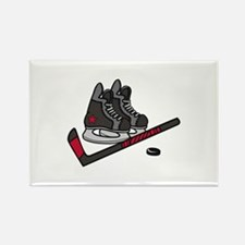 Hockey Skates Magnets