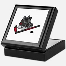 Hockey Skates Keepsake Box