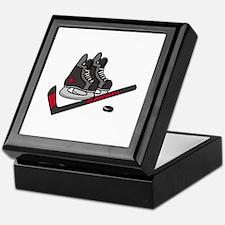 Hockey Skates Keepsake Box
