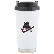 Hockey Skates Travel Mug