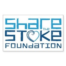 Share the Stoke Logo Decal