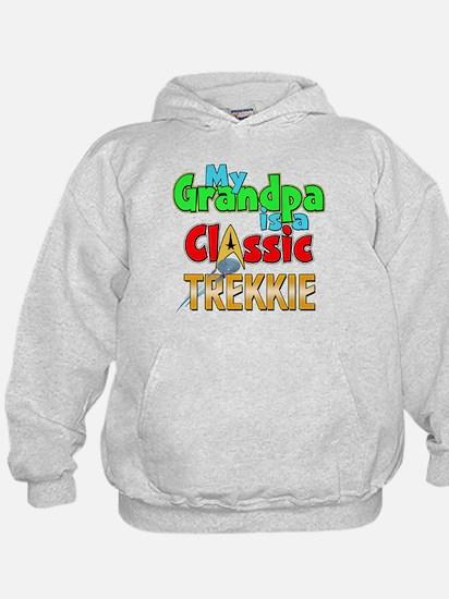 Classic Trekkie Grandpa Hoodie