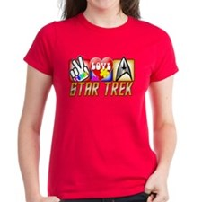 Peace Love Star Trek Tee