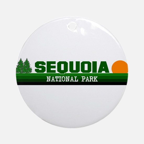 Sequoia National Park Ornament (Round)