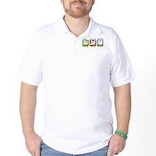 Peace Love Spock T-Shirt