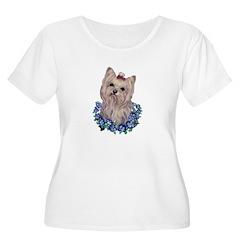 A Pensive Pretty Yorkie T-Shirt
